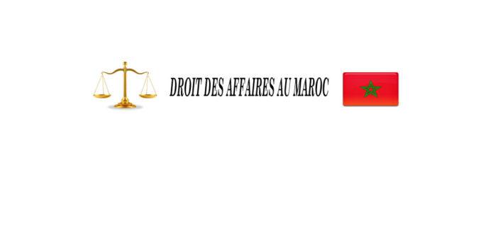 Blog de droit des affaires au Maroc